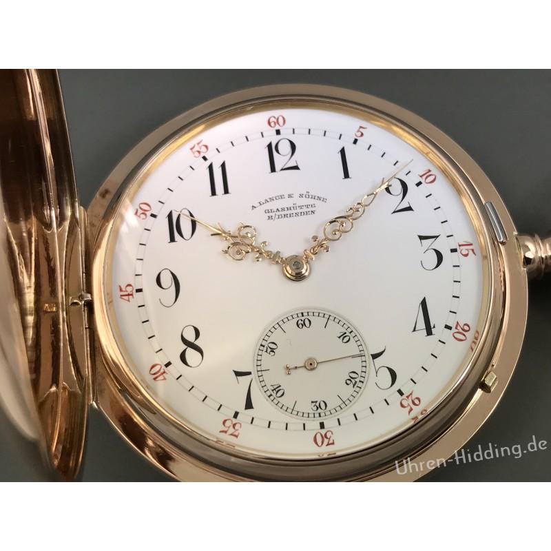 A. Lange & Söhne 18ct- Gold-Savonette 1A