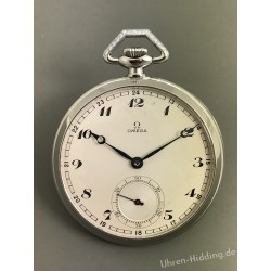 Omega Pocket Watch Steel