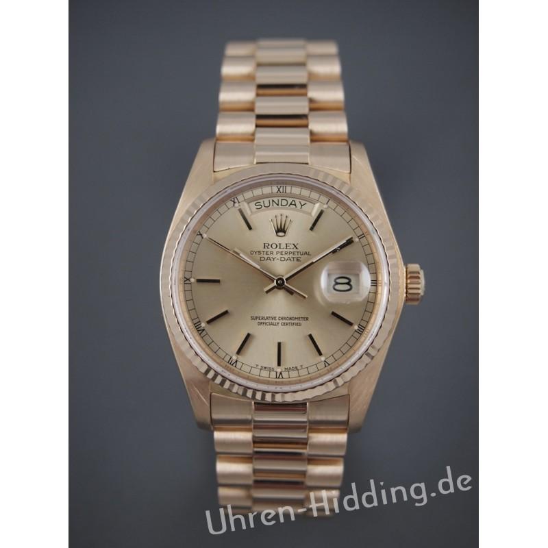 Rolex Day Date Ref 18038 Presidential bracelet
