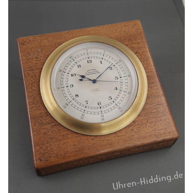 Gustav Gerstenberger Desk Chronometer No. 100