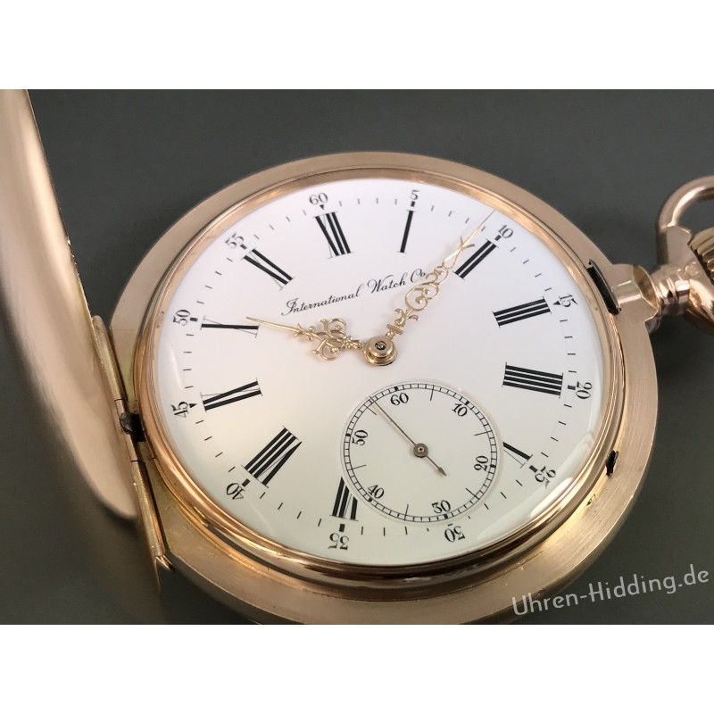 IWC-Pocket-Watch 14ct gold