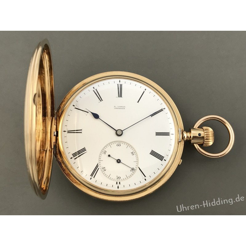 A. Lange, Dresden, early Pocket-Watch
