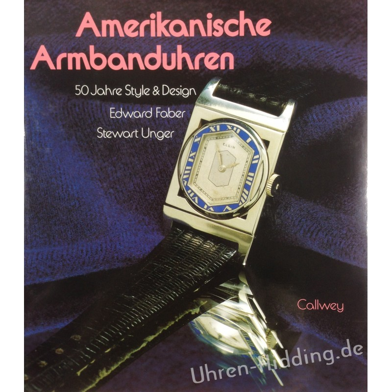 """Book """"Amerikanische Armbanduhren"""""""