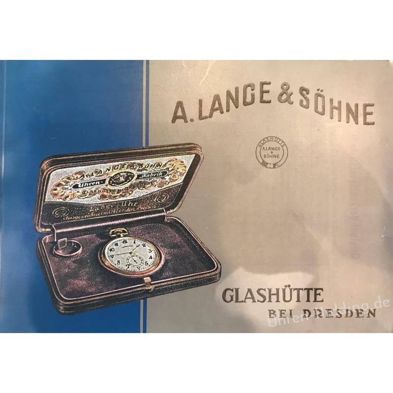 A. Lange & Söhne Glashütte Catalogue