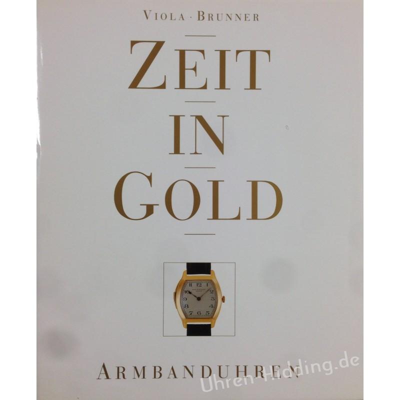 """Book """"Zeit in Gold"""" Armbanduhren"""