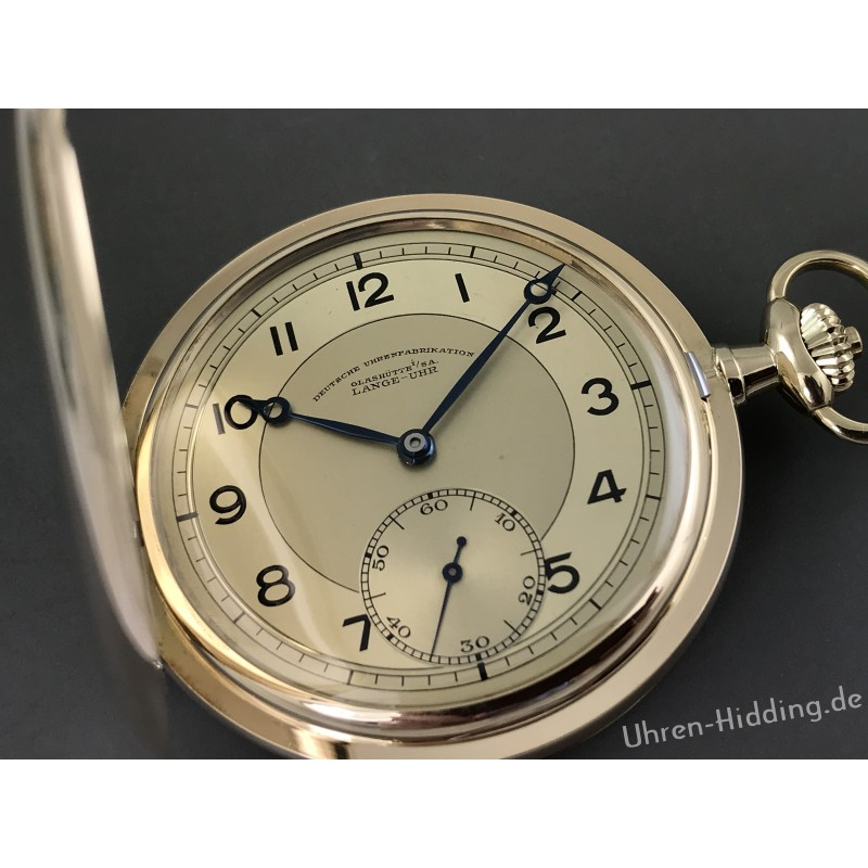 Lange pocket-watch OLIW 14ct yellow-gold