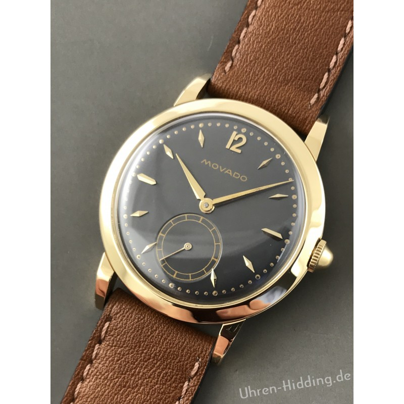 Movado Wristwatch 18ct yellow-gold