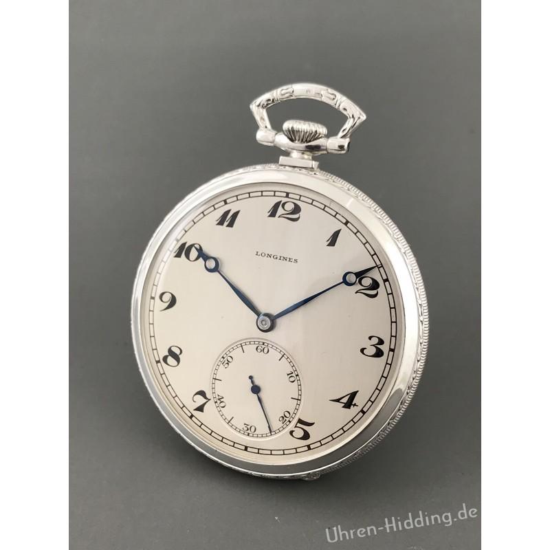 Longines Pocket-Watch 900/ooo Silver